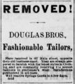 Fashionable Tailors. (Newspaper advertisement)
