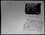 Letter to Adelia Dunovant from Elisabet Ney